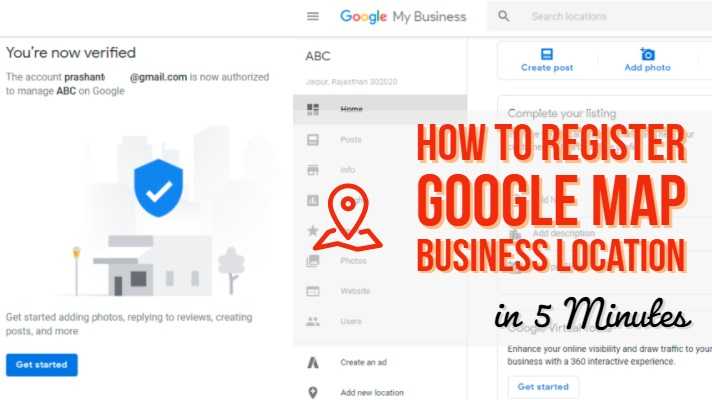 Register Google Map Business Location in 5 Minutes on add to amazon, add to bing, add to friend, add to pinterest, add to craigslist, add to web, add to calendar, add to netflix, add to linkedin, add to home,