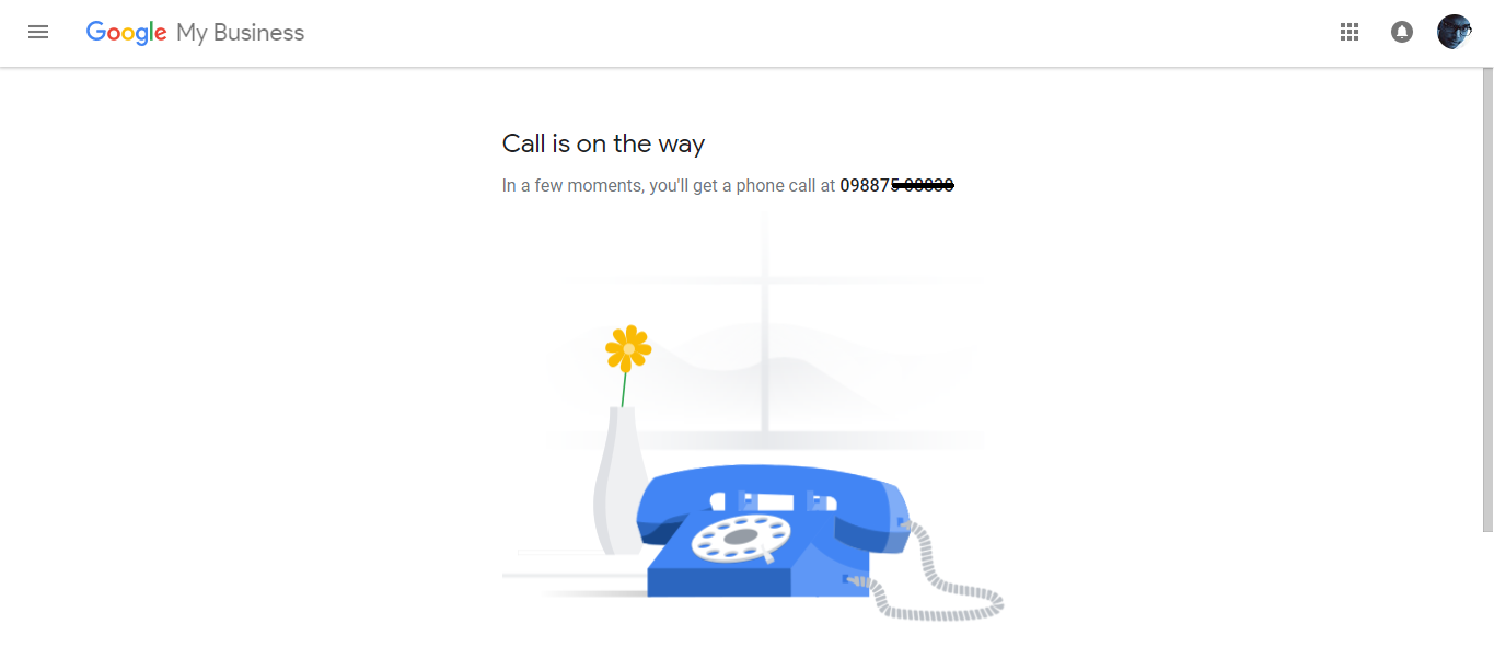 Google Add Business Location Verifying On Call